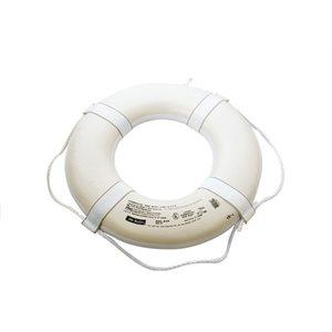 """Ring buoy 24"""" white"""