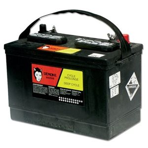 RV31 deep cycle battery 12V 200 RC min.