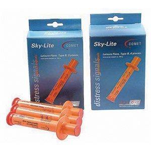 Comet Sky-Lite Hand Flares Type B 6 / Pack