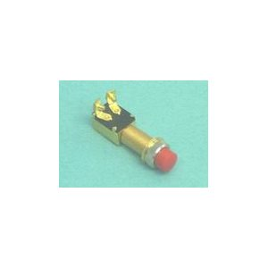 """Horn button - with rubber cover 5 / 8"""" hole. L- 2 3 / 4"""""""