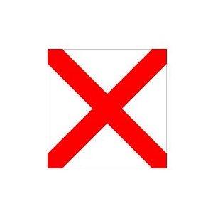 """Code flag 12"""" x 18"""" each"""