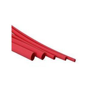 "Heat shrink 48"" x 1 / 8"" red"