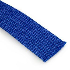"Sangle 1"" en nylon robuste bleu / pied"