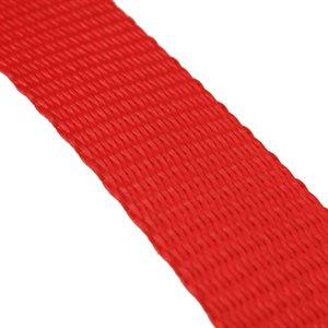 """Sangle 1"""" en nylon robuste rouge le pied"""