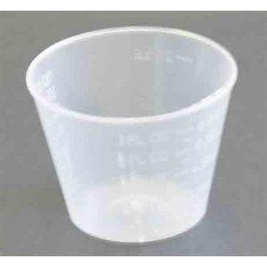 Tasse en plastique gradué 1 once