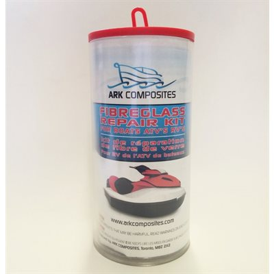 Ark fiberglass repair kit 6oz