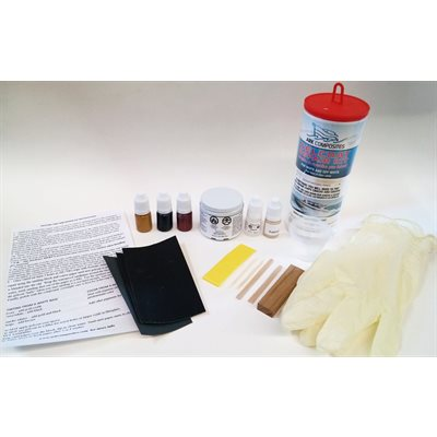 Gelcoat repair kit white and colours 2oz