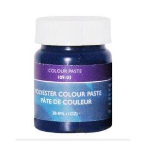 Gelcoat color paste marine blue 1 oz