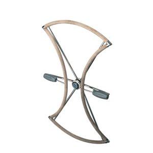 "Lewmar folding wheel 40"" (1016mm) dual hub"