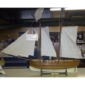"Model ship Pirate 25"""