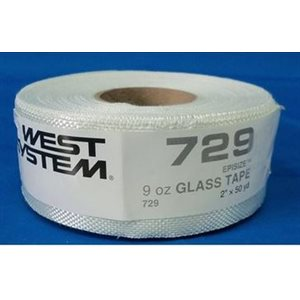 """Tissu en fibre de verre 9 oz x 2 """" / verge"""