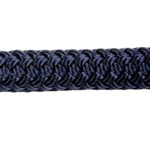 "Cordage polyester double tressage 1 / 4"" (6.4 mm) marin"