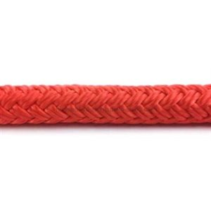 """Double braid polyester 3 / 8"""" (9.5 mm) red"""