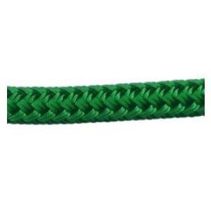 "Cordage polyester double tressage 3 / 8"" (9.5 mm) vert"