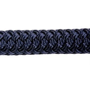 """Double braid polyester 1 / 2"""" (12.7 mm) navy"""