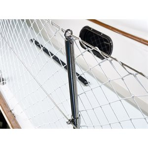 """Lifelline netting 1"""" square coated / foot"""