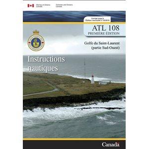 Instructions nautiques Golfe du St-Laurent Sud Ouest