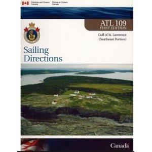 Instructions nautiques Golfe du Saint-Laurent partie Nord-Est (en anglais)