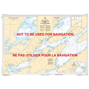 Carte 4278 Great Bras D'Or et St. Patricks Channel