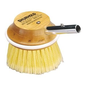 """Round brush 5"""" easily and positively locks into any Shurhold handle"""