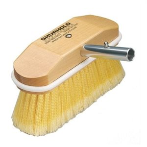 """Soft brush 8"""" easily and positively locks into any Shurhold handle"""