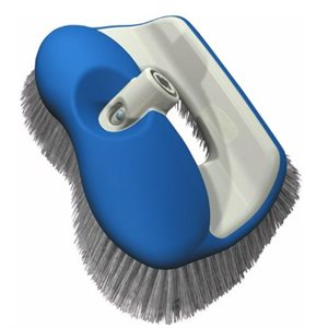 Hammerhead brush , easily and positively locks into any Shurhold handle