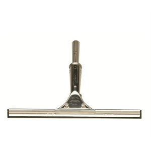 """Squeegee stainless steel 12"""" , easily and positively locks into any Shurhold handle"""