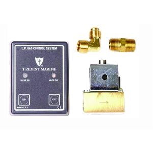 """Propane control system with 3 / 8"""" 12v solenoid"""