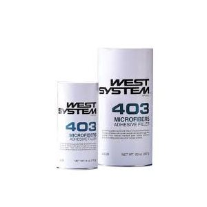 Charge microfibres 403 West System 6oz