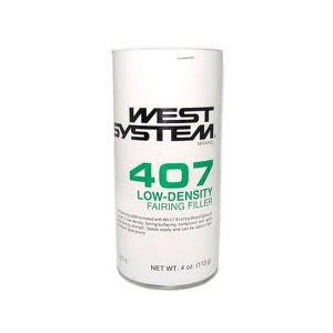 West System 407 micro baloons low density filler 4 oz
