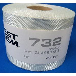 """Fiberglass cloth 9 oz x 4"""" 50 yard roll"""