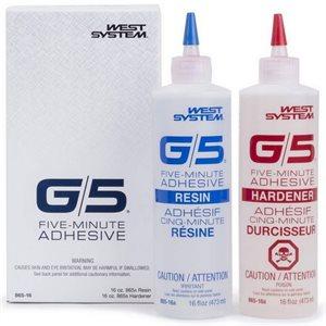 G5 5 minute epoxy kit 2 x 473ml