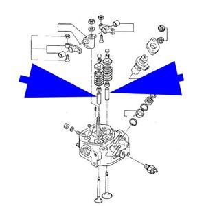 Guide de soupape 1GM 2GM (F) 3GM (F) 3GMD (F) 1GM10 2GM20 (F) 3GM30 (F) 3HM (F) 3HM35 (F)