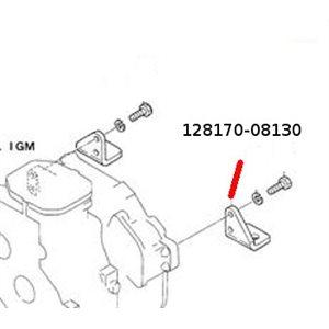 Engine bracket rear 1GM