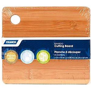 "Bamboo cutting board galley / RV 7-7 / 8"" x 7-1 / 8"" x 1 / 2"""