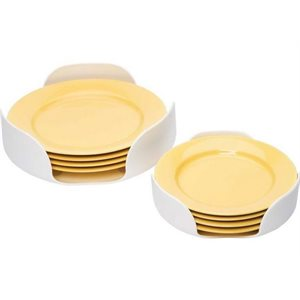 """Plate stacker white 2pk for 7-1 / 4"""" and 10-1 / 4"""" plates"""