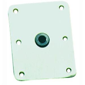 """KingPin standard rectangular stainless base 4"""" X 8"""""""