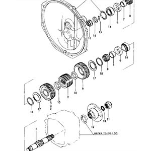 Retainer spring KMP2 #18 in diagram