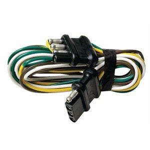 """Extension de faisceau de câbles de remorque 5 broches 48 """""""