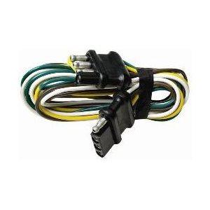 """Extension du faisceau de câbles de remorque 4 broches 48"""""""
