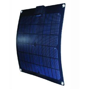"""Panneau solaire monocristallin semi-flexible 15w 14.65 """"x 14.65"""" x 0.07 """""""