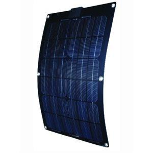 """Panneau solaire monocristallin semi-flexible 50W 33.5"""" x 23.25"""" x 0.07"""""""