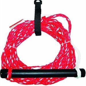 "Ski rope tournament 5 / 16"" x 75' 12-strand polypropylene"