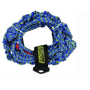 Wakesurfing rope - 3 sections 16 strand 16'