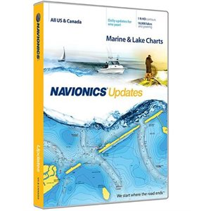 Navionics Plus Updates card on SD / MSD