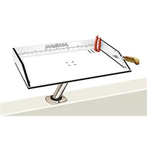 """Bait / Filet Mate table 20"""" x 12 3 / 4"""" mount not Included"""