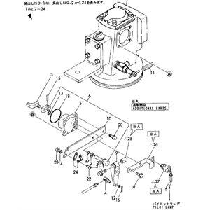 Pin taper 4X25 part #15 in diagram