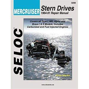 Seloc repair manual for Mercruiser stern drive 1964-91