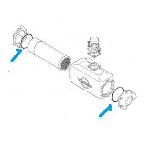 Heat exchanger o-rings (2) 2QM