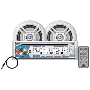 CD stereo receiver kit with Blootooth and speakers